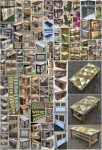 50 Plus Easy DIY Creations Made with Pallets