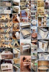 Artistic DIY Ideas with Wood Pallets