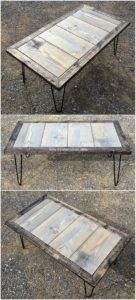 Pallet Table Plan