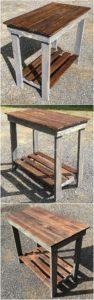 Wood Pallet Table Idea
