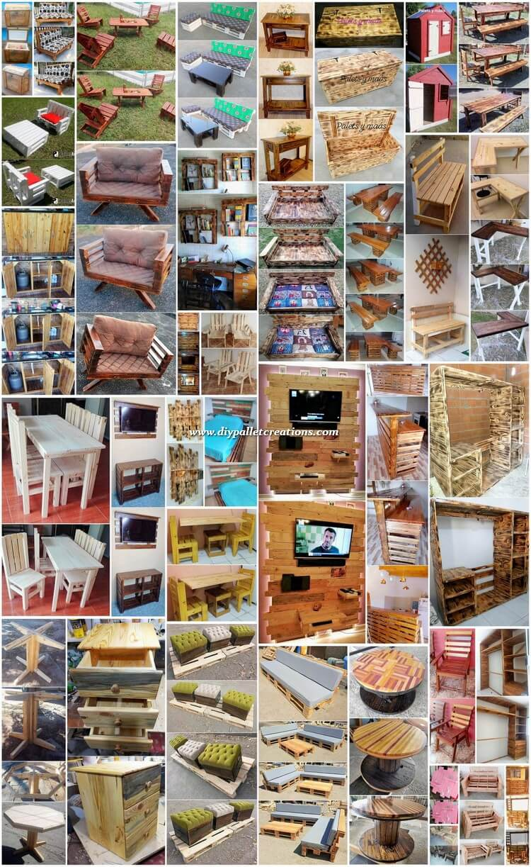 35+ Easy DIY Pallet Projects for Your Home