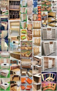 Amazing Crafts To Build with Recycled Pallets