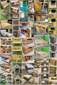 Clever Ways to Reuse Old Wooden Pallets
