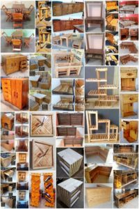 Heart Touching DIY Wooden Pallet Reusing Projects