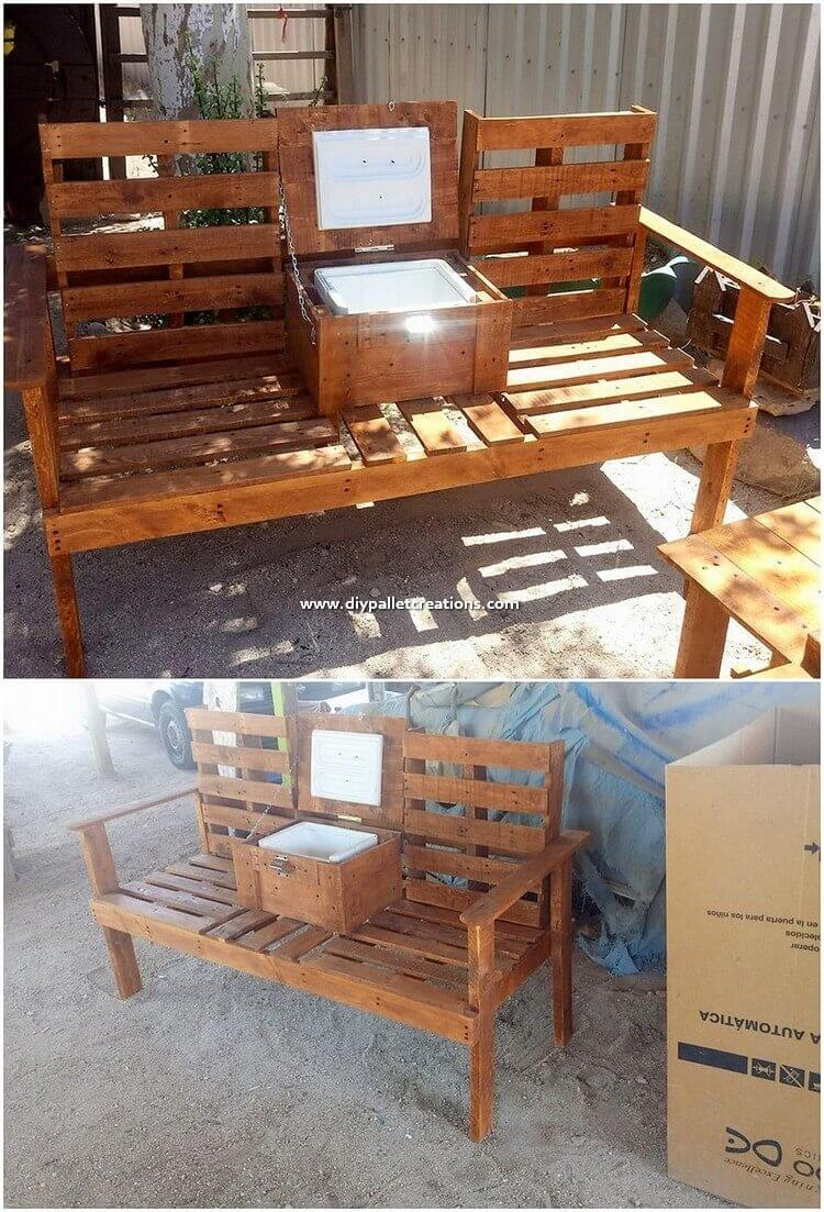 Pallet-Bench-with-Cooler