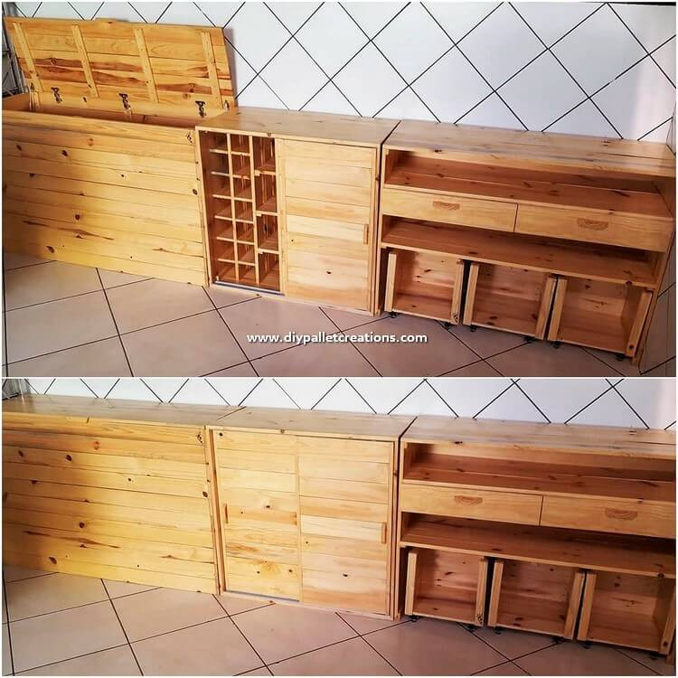 Pallet Cabinets