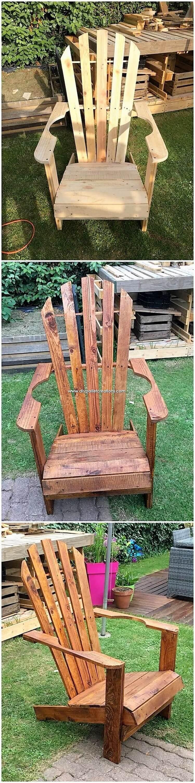 Pallet-Garden-Chair