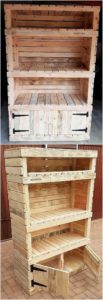 Pallet Shelving Cabinet or Cupboard