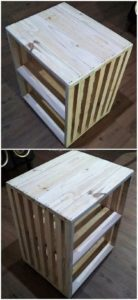 Pallet Side Table
