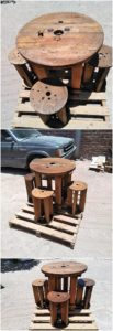 Round-Top-Table-and-Stools