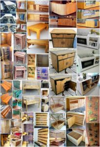 Simple and Easy to Make DIY Wood Pallet Ideas