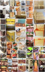 Adorable Ideas with Recycled Wood Pallets