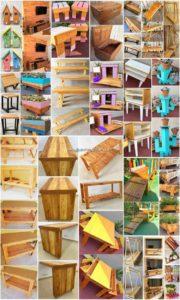 Eye Catching DIY Wooden Pallet Reusing Ideas