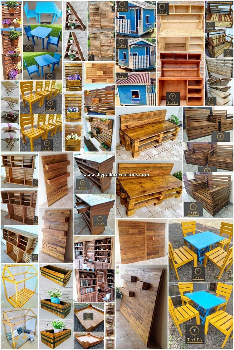 Innovative DIY Wood Pallet Recycling Ideas