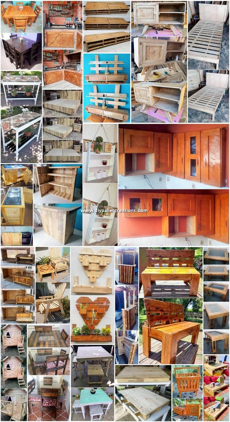 Magnificent DIY Wood Pallets Ideas for Home Beauty