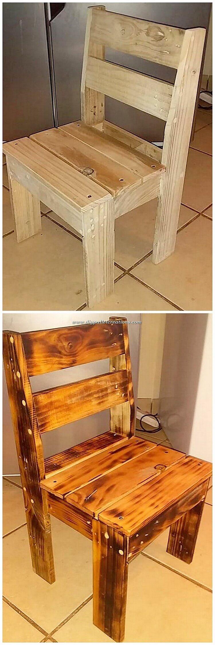 Pallet Chair Idea