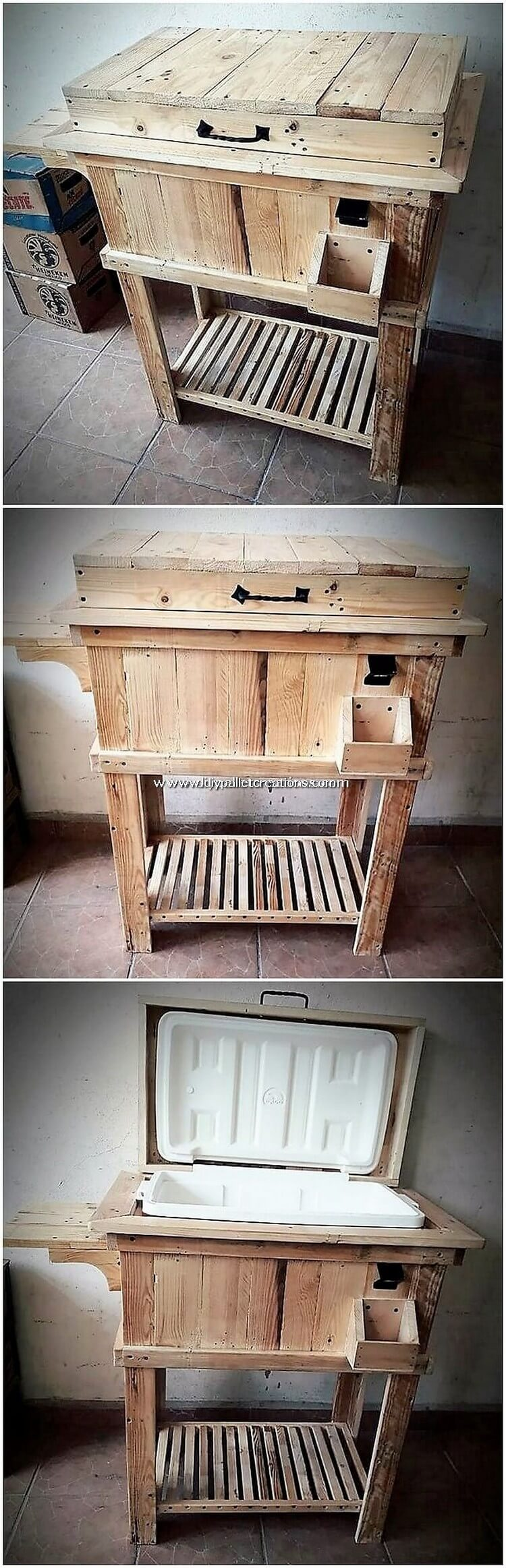 Pallet Cooler Stand