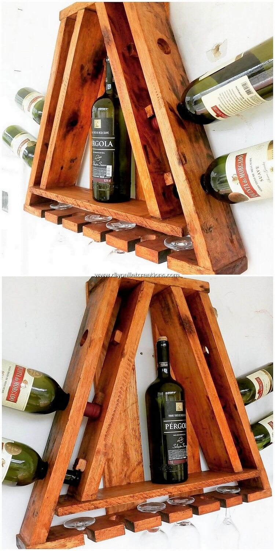 Pallet Wine Rack Proejct