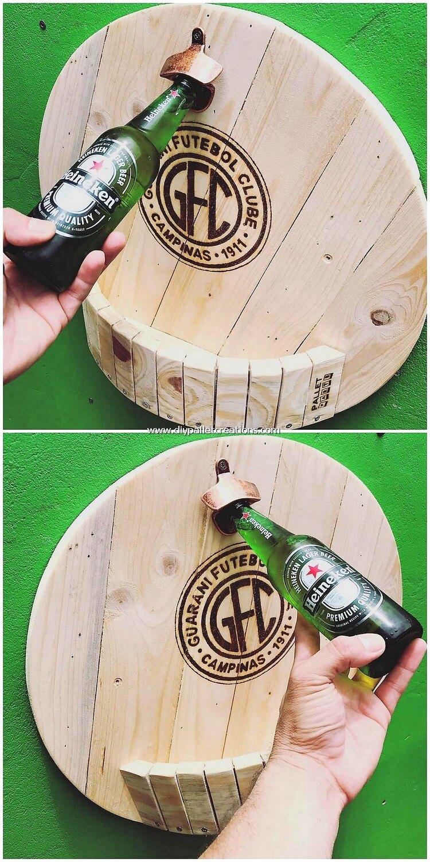 Pallet Wood Bottles Opener