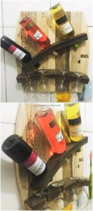 Pallets Wine Rack