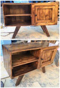 Wood Pallet Cabinet