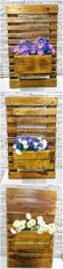 Wooden Pallet Wall Planter