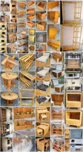 Breath-taking DIY Ideas with Recycled Wooden Pallets