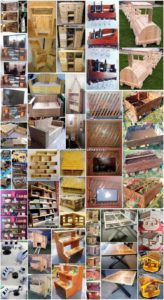 Inexpensive DIY Creations with Recycled Pallets