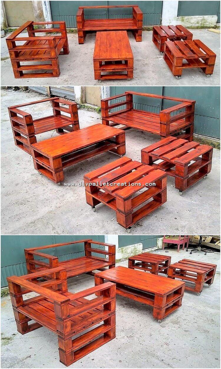 Pallet Outdoor Furniture