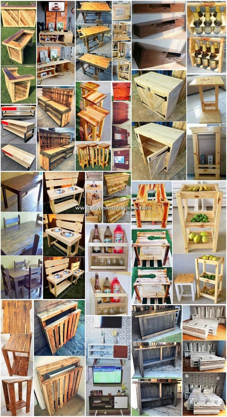Surprising DIY Ideas with Old Wood Pallets