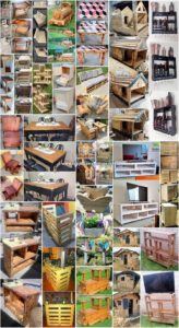 Tremendous DIY Creations with Old Wood Pallets