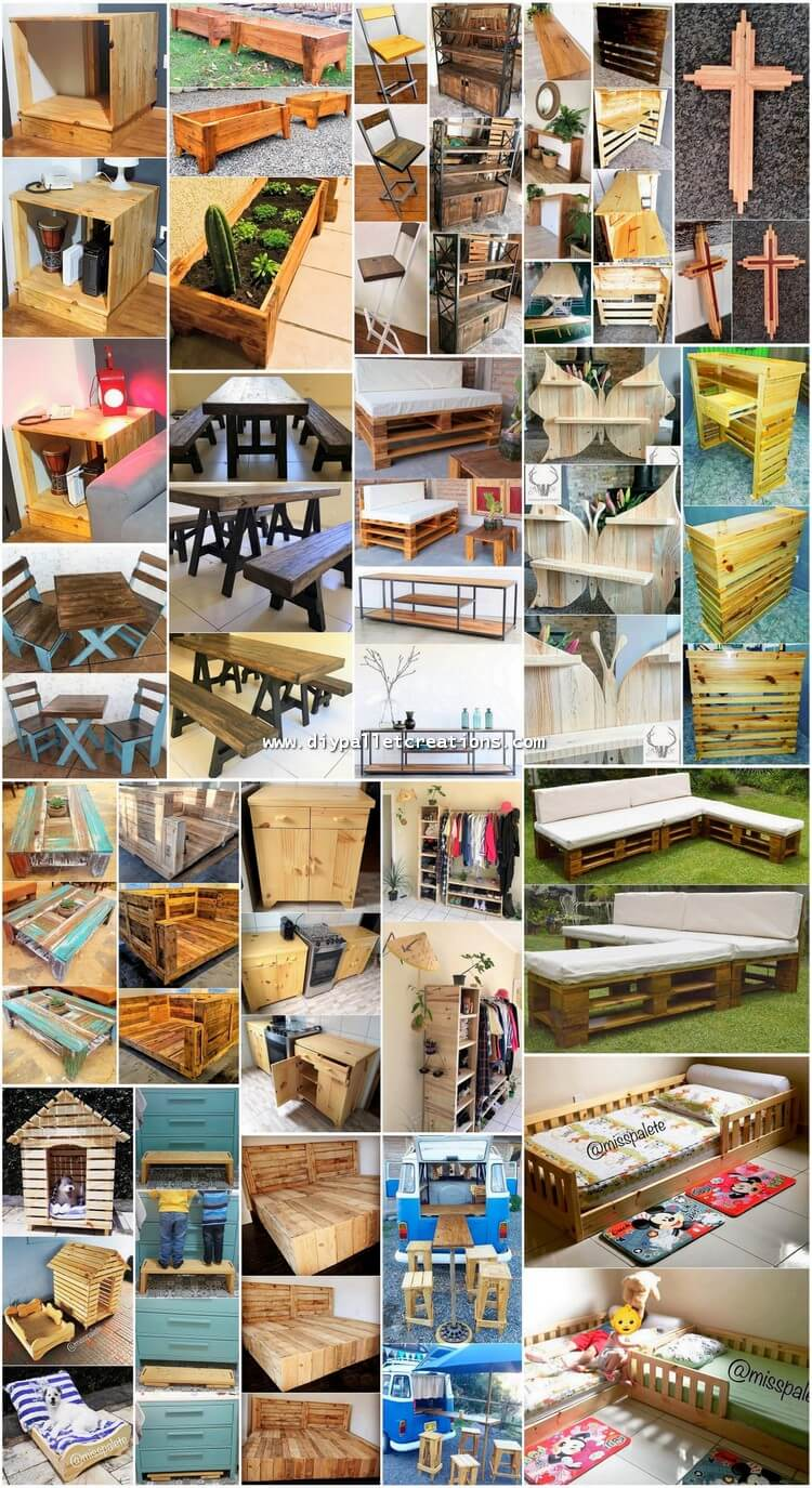 Majestic DIY Ideas with Scraped Wood Pallets