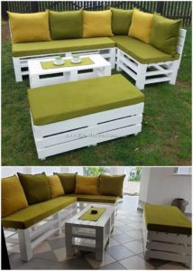 Pallet Couch and Seat