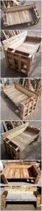 DIY Pallet Bench