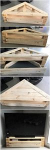 DIY Pallet TV Stand with Drawer