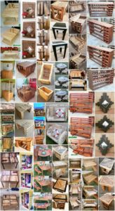 Easy to Make DIY Creations with Shipping Pallets
