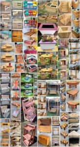 Fanciful DIY Projects Made with Shipping Pallets