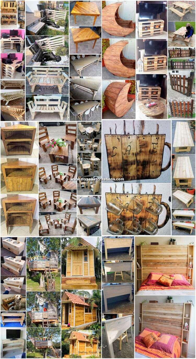 Fresh DIY Wood Shipping Pallet Creations 2019