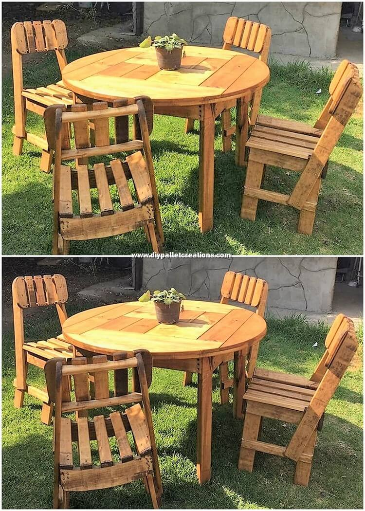 Pallet Dining Furniture