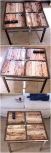 Pallet Wood Table