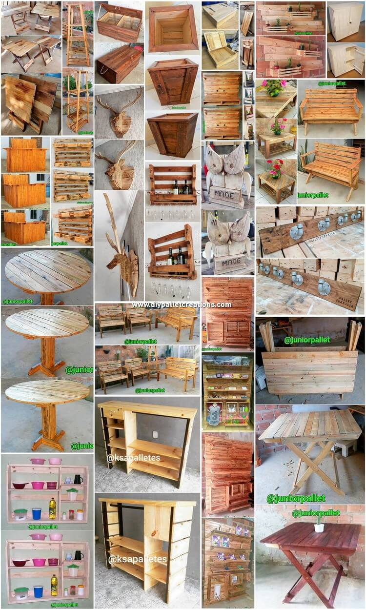 Some Special DIY Wood Pallet Ideas for Your Home