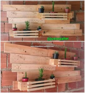 Wood Pallet Wall Planter