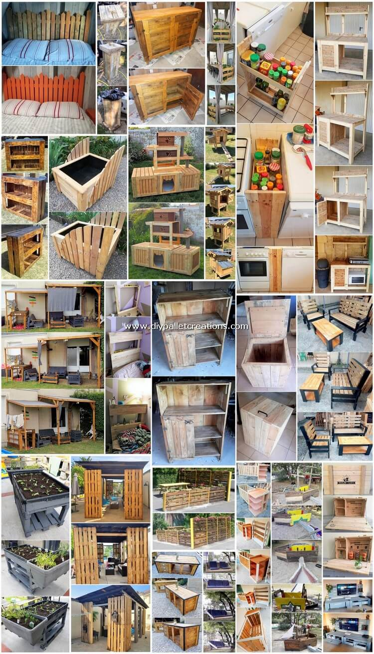 Brilliant DIY Projects Made Out of Shipping Pallets