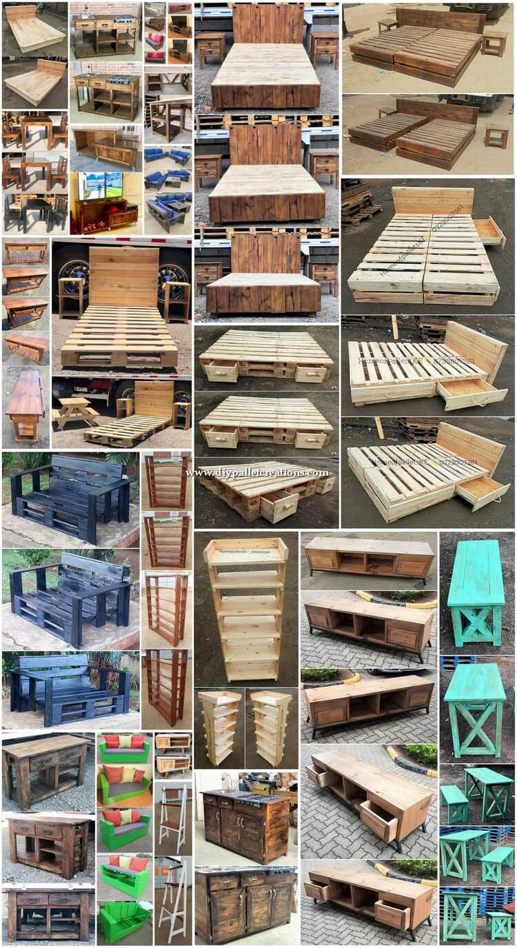 Exquisite DIY Projects Made with Shipping Pallets