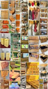 Magnificent DIY Projects with Shipping Pallets