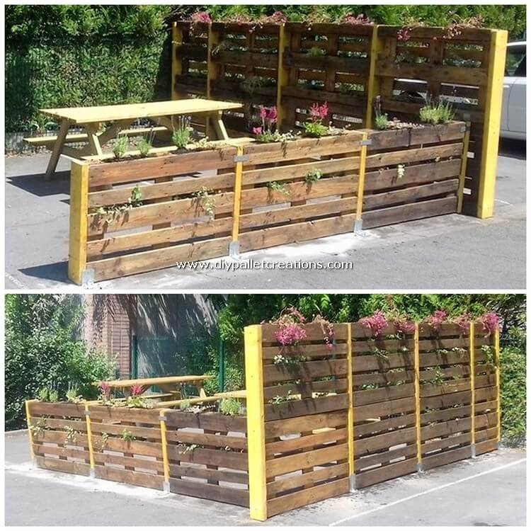 Pallet Outdoor Decor Creation