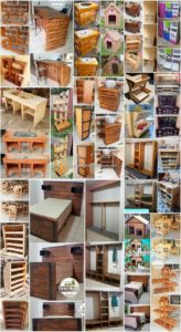 Wonderful Creations Made with Shipping Pallets