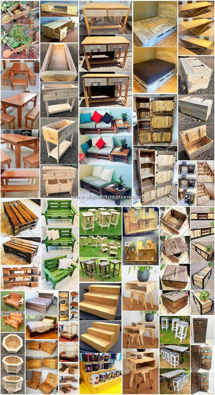 30 Stunning DIY Wood Pallet Creations for Your Home