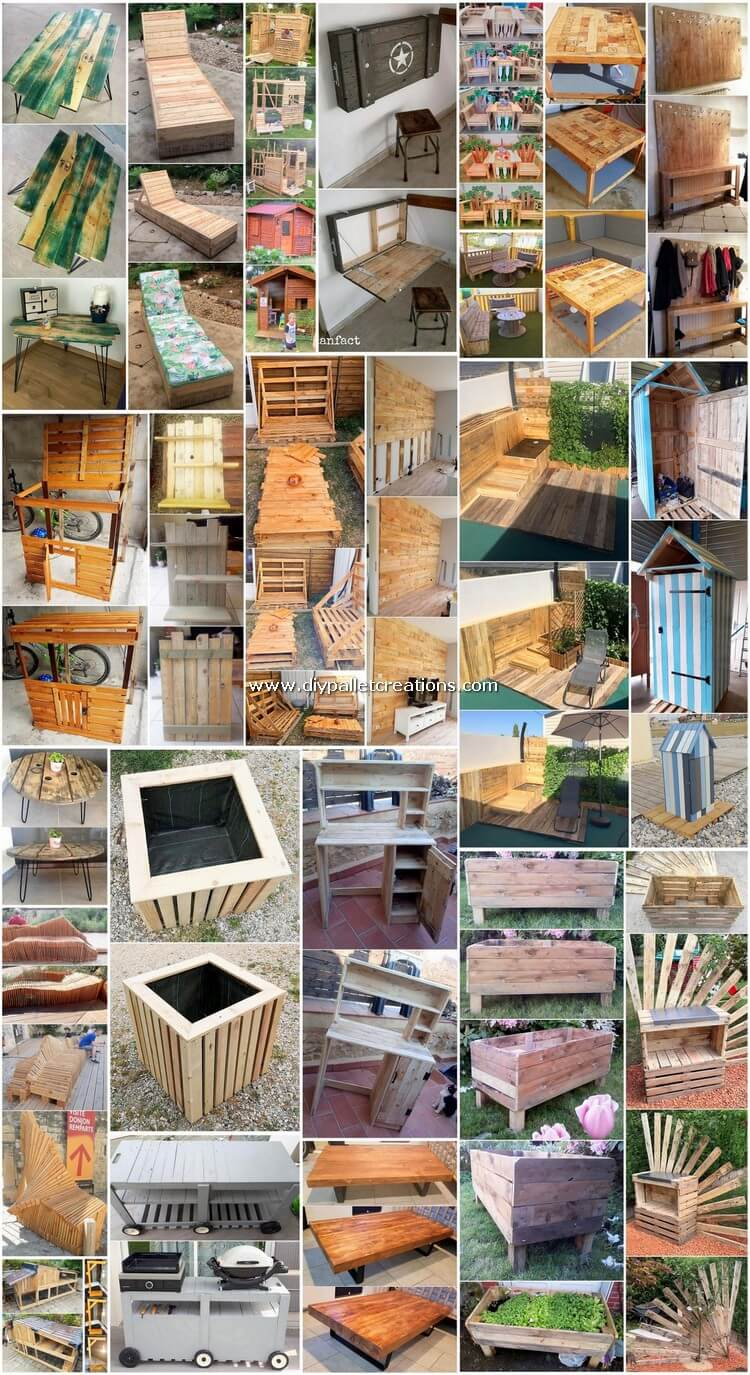 Charming Recycled Shipping Pallet DIY Ideas