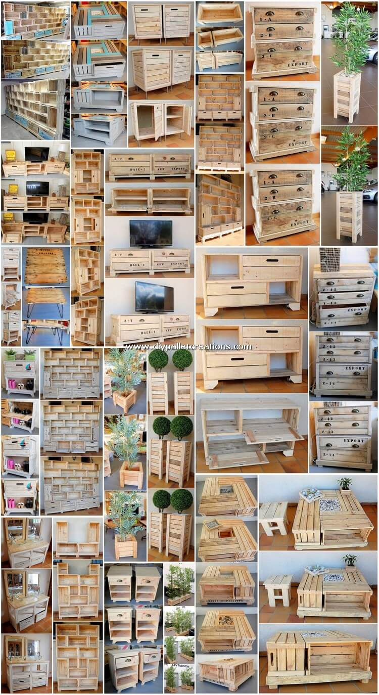 Fabulous Wooden Pallet Projects for Your Home